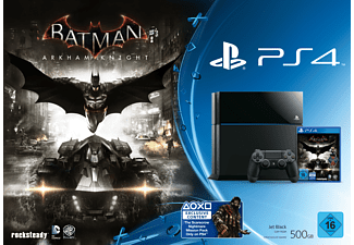 SONY PlayStation 4 Konsole 500GB Schwarz inkl. Batman: Arkham Knight