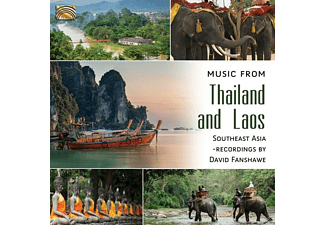 VARIOUS - Music From Thailand And Laos - (CD)