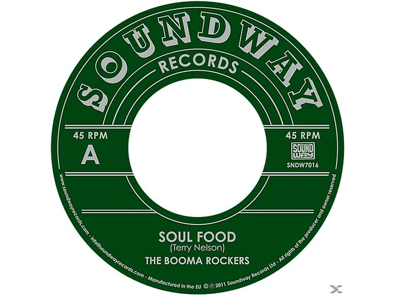 The Booma Rockers - Soul Food/Booma Woman [Vinyl]
