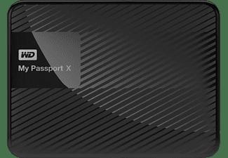 WD My Passport™ X Gaming-Speicher für Xbox One, Gaming Speicher, Schwarz