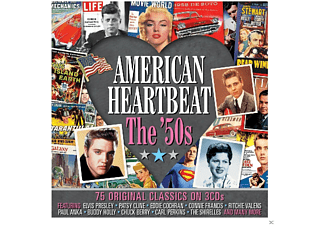 VARIOUS - American Heartbeat 50's  - (CD)