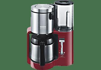 SIEMENS TC86504 Kaffeemaschine Cranberryrot/Schwarz