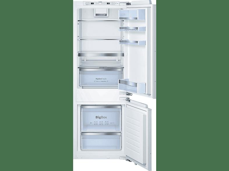 BOSCH KIS77AD40 Kühlgefrierkombination (A+++, 138 kWh, 1578 mm hoch, Einbaugerät)