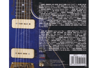 VARIOUS - Black & White Blues Guitars  - (CD)