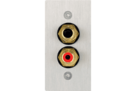 IN AKUSTIK Premium AV Blende Stereo Audio bulk  AV Blenden