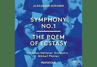 Mikhail Pletnev, Russian National Orchestra, VARIOUS - Sinfonie 1/Le Poeme De L'extase  - (SACD Hybrid)