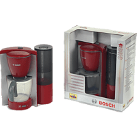 BOSCH Kaffeemaschine Kaffeemaschine (Kinderspielzeug), Rot/Grau