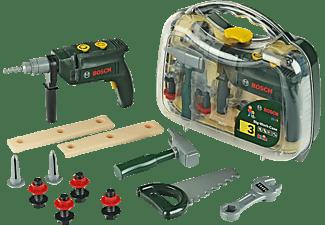 BOSCH Werkzeugkoffer (Kinderspielzeug) Rollenspielzeug Grün/Transparent