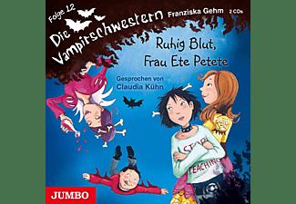 Die Vampirschwestern 12: Ruhig Blut, Frau Ete Petete  - (CD)