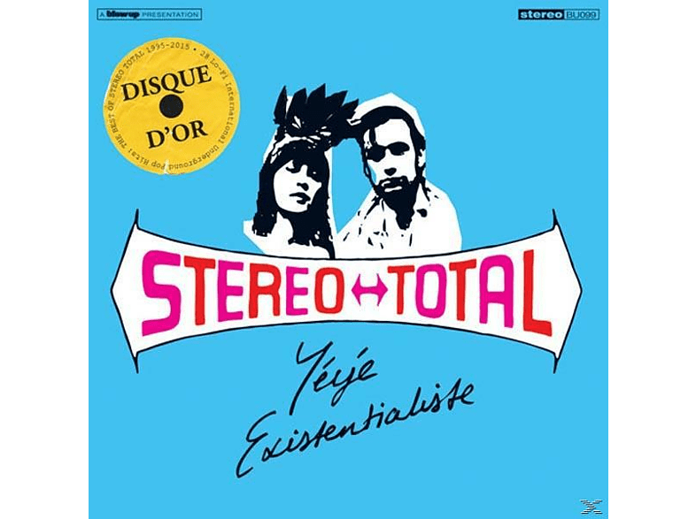Stereo Total - Yeye Existentialiste [CD]