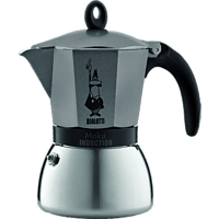 BIALETTI 4822 Moka Induktion Espressokocher Anthrazit