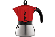 BIALETTI 4923 Moka Induktion Espressokocher Rot