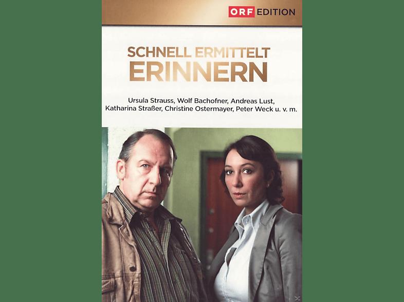 SCHNELL ERMITTELT 2 - ERINNERN [DVD]