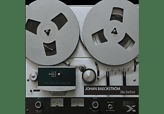 Johan Baeckstroem - Like Before  - (CD)
