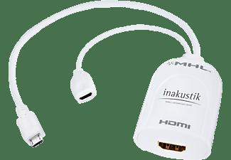 IN AKUSTIK Premium MHL - HDMI Adapter (RCP), MHL Adapter