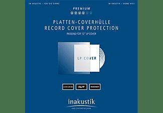 IN AKUSTIK 004528006 Premium 50er Set Platten-Coverhüllen Transparent