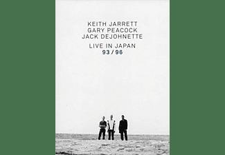 VARIOUS - Keith Jarrett Trio - Live In Japan 93 / 96  - (DVD)