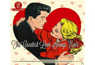 VARIOUS - Greatest Love Songs Ever  - (CD)