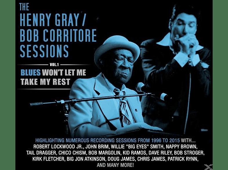 Gray,Henry  & Corritore,Bob - Blues Won't Let Me Take My Rest Vol.1 [CD]