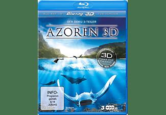 Die Azoren 3D: Auf den Spuren von Entdeckern, Walen und Vulkanen - Teil 1-3 Blu-ray + DVD