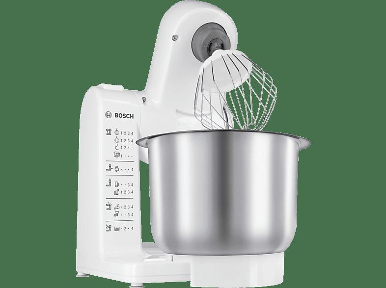 BOSCH MUM 4407 Küchenmaschine Weiß 500 Watt