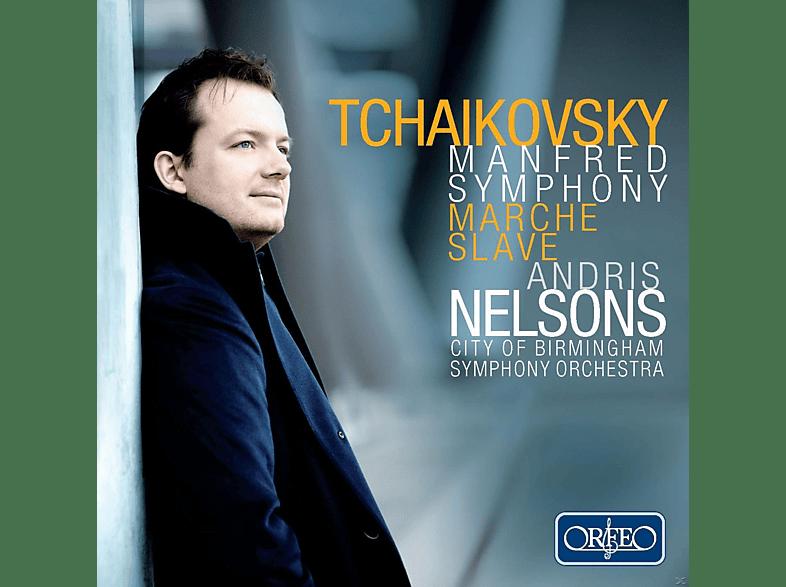 Andris Nelsons, City of Birmingham Orchestra - Manfred-Sinfonie Op. 58, Slawischer Marsch Op. 31 [CD]