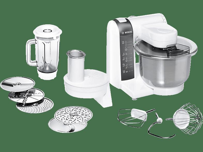 BOSCH MUM48120 Küchenmaschine Weiß 600 Watt
