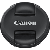 CANON E-77 II Objektivdeckel, Schwarz