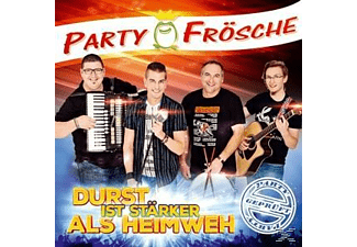Die Partyfrösche - Durst ist stärker als Heimweh  - (CD)
