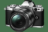 OLYMPUS OM-D E-M5 Mark II Systemkamera 16.1 Megapixel mit Objektiv 14-150 mm f/4-5.6, 7,6 cm Display Touchscreen, WLAN