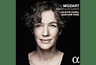 Juliette Hurel, Quatuor Voce - Die Flötenquartette [CD]