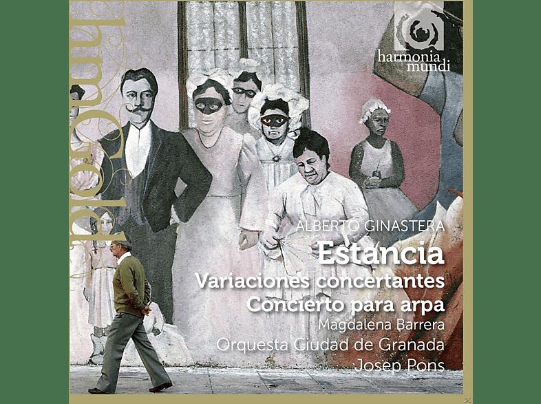 Josep Pons, Magdalena Barrera, Orquesta Ciudad De Granada - Estancia, Variaciones Concertantes, Concierto Para Arpa [CD]
