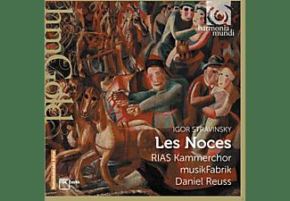 Daniel Reuss, Ensemble Musikfabrik, Rias Kammerchor - Les Noces  - (CD)