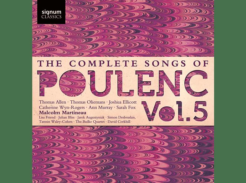 Malcolm Martineau, VARIOUS - Die Lieder Vol.5 [CD]