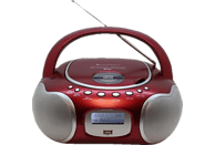 SOUNDMASTER SCD4200RO Boombox Radio, Rot-metallic