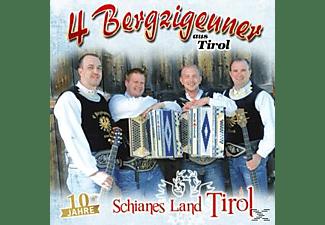 4 Bergzigeuner Aus Tirol - Schianes Land Tirol-10 Jahre  - (CD)