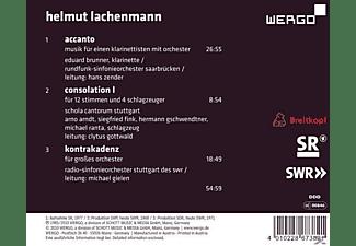 Brunner, Zender, Rso Saarbrücken, Gottwald, Brunner/Zender/RSO Saarbrücken/Gottwald/ - Accanto/Consolation I/Kontrakadenz  - (CD)