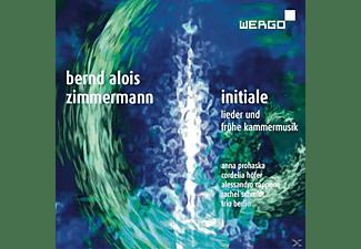 Schmidt, Prohaska, Hofer, Cappone, Trio Berl - Initiale-Lieder Und Kammermusik  - (CD)