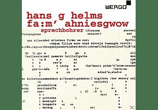 Sprechbohrer - Hans G Helms: Fa:m Ahniesgwow - Cd 1  - (CD)