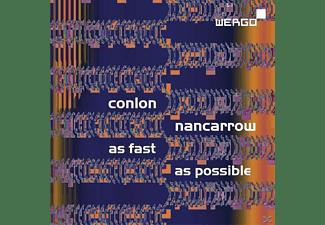 Usher, Ensemble Modern, John Towner Williams, Bugallo - Conlon Nancarrow: As Fast As Possible  - (CD)