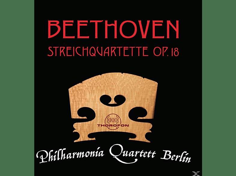 Philharmonia Quartett Berlin - Beethoven : Streichquartette op.18 [CD]