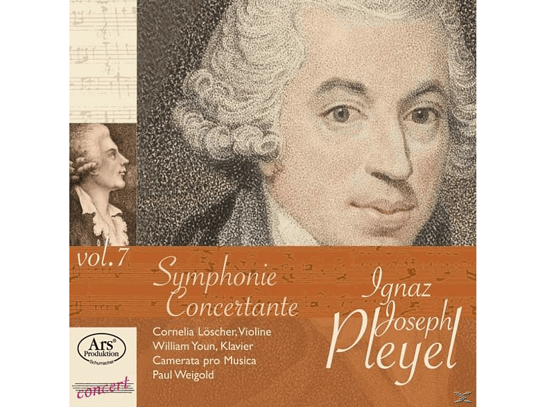 Cornelia Loescher, William Youn, Camerata Pro Musica, Paul Weigold - Symphonie Concertante [CD]
