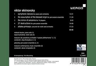 Chudjakow & Moskauer So - The Mirror Of Avicenna  - (CD)