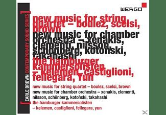 Maderna, Internat.Kranichsteiner Kammerensemble, Maderna/Internat.Kranichsteiner Kammerensemble - Earle Brown-A Life In Music Vol.4  - (CD)