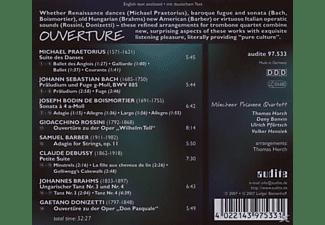 Münchner Posaunenquartett - Ouverture  - (CD)
