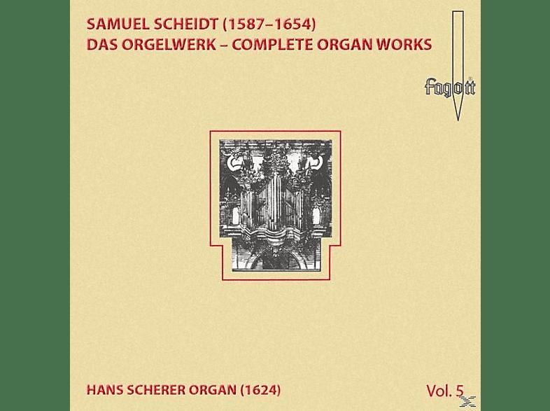 Lehmann Christoph - Scheidt: Das Orgelwerk - Complete Organ Works Vol. 5 [CD]