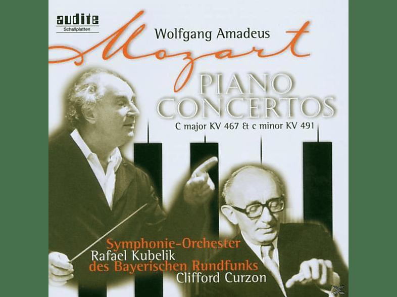 Curzon, Kubelik, SO Bayer.Rf, Curzon,C./Kubelik,R./SOBR - Klavierkonzerte 21 & 24 [CD]