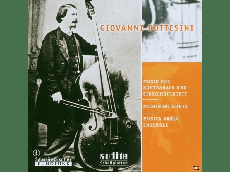 Michinori & Musica Varia Ensemble Bunya - Musik Für Kontrabass & Streichquintett [CD]