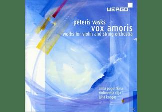 Alina Pogostkin, Juha Kangas, Sinfonietta Riga - Vox Amoris - Works For Violin And String Orchestra  - (CD)