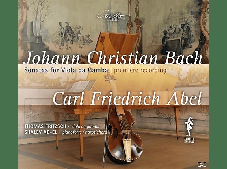 Fritzsch,T./Ad-El,S., Fritzsch,Thomas/Ad-El,Shalev - Sonaten für Viola da gamba [CD]